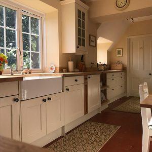 Kitchen transformation, kitchen stori, cooksleep, cooksleep navenby, storage, cupboards, window, door