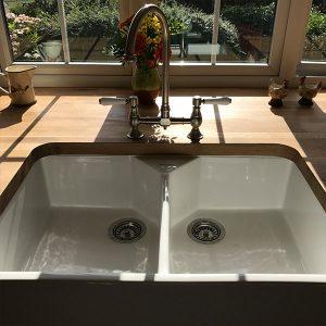 Kitchen transformation, kitchen stori, cooksleep, cooksleepnavenby, sink, tap, doublesink