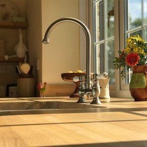 Kitchen transformation, kitchen stori, cooksleep, cooksleepnavenby, sink, tap, window, flowers
