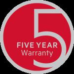 AEG Premier Partner 5 Year Warranty