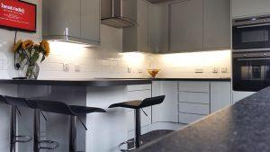 new kitchen, cooksleep, cooksleepnavenby, kitchen transformation, breakfast bar, seating, curves