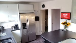 new kitchen, cooksleep, cooksleepnavenby, kitchen transformation, plan view, appliances, breakfast bar, whole room