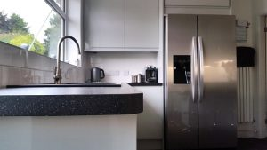 new kitchen, cooksleep, cooksleepnavenby, kitchen transformation, curved worktop, sink, tap