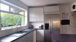 new kitchen, cooksleep, cooksleepnavenby, kitchen transformation, appliances, free-standing fridge freezer