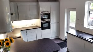 new kitchen, kitchen transformation, cooksleep, cooksleepnavenby, new layout, breakfast bar, user-friendly space