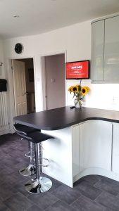 kitchen transformation, cooksleep, cooksleepnavenby, curves, curved worktop, organic, modern, spacious