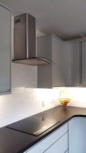 kitchen transformation, cooksleep, cooksleepnavenby, curves, curved worktop, organic, modern, spacious, bespoke kitchen