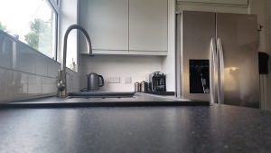 new kitchen, cooksleep, cooksleepnavenby, kitchen transformation, curves, worktop, sink, tap