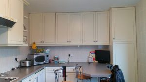 kitchen transformation, cooksleep, cooksleepnavenby, storage, tall cupboards, bespoke kitchen