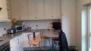 old kitchen, kitchen transformation, cooksleep, cooksleepnavenby, breakfast bar