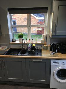 kitchen transformation, after, cooksleepnavenby, window, sink