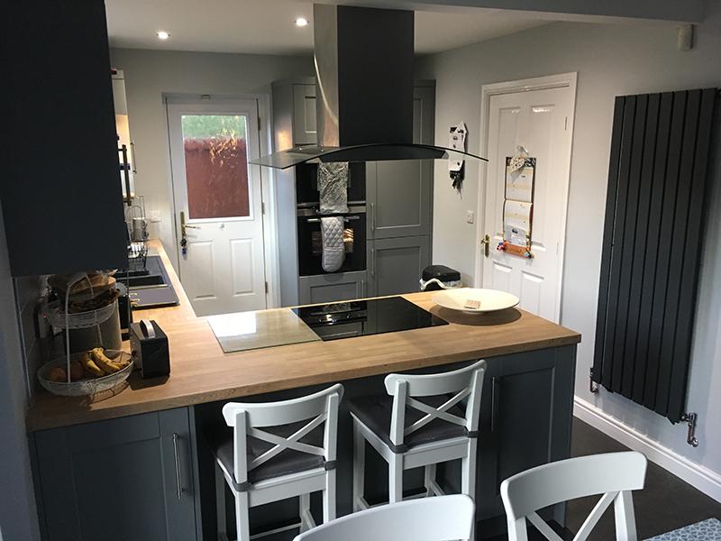 kitchen transformation, after, cooksleepnavenby, finished room, kitchen stori
