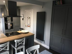 kitchen transformation, after, cooksleepnavenby, affordable kitchen, wall mounted heater,