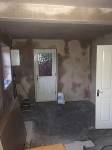 kitchen transformation, knocked down wall, cooksleepnavenby, whole room