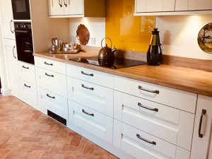cooksleep, buckingham ivory door, drawers, new kitchen, navenby